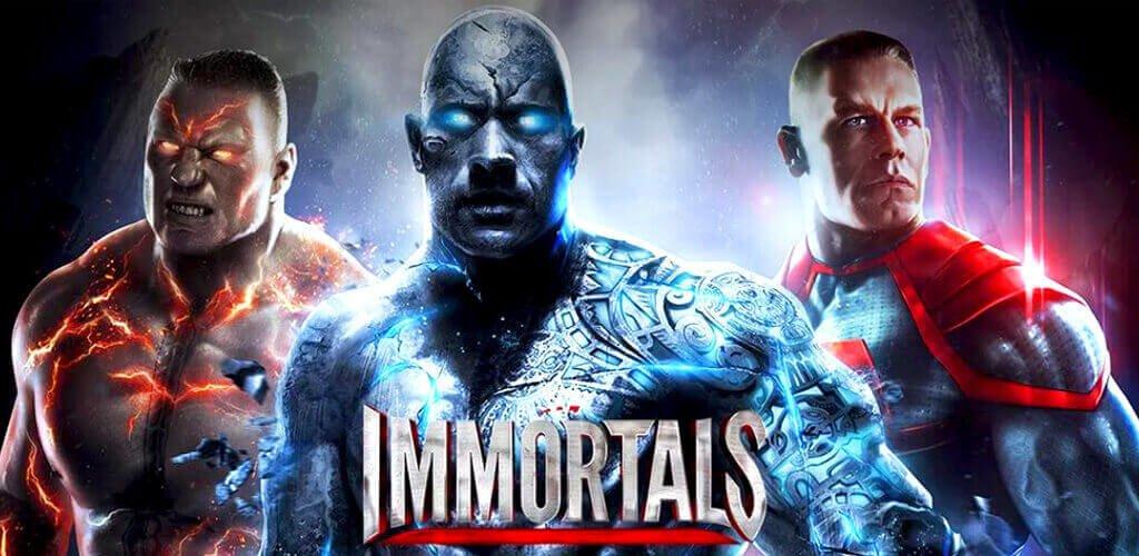 لعبة WWE Immortals