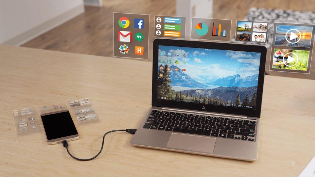 جهاز The Superbook لتحويل هاتفك الأندرويد إلى حاسوب محمول !!